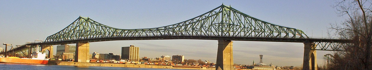 Jacques-Cartier bridge. Licensed under Creative Commons Attribution-Share Alike 2.5 via Wikimedia Commons - http://commons.wikimedia.org/wiki/File:Jacques-Cartier_bridge.JPG